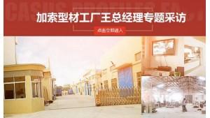 龙八娱乐加索型材工厂王总经理专题采访