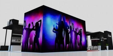 展台设计帮企业玩转不同风格