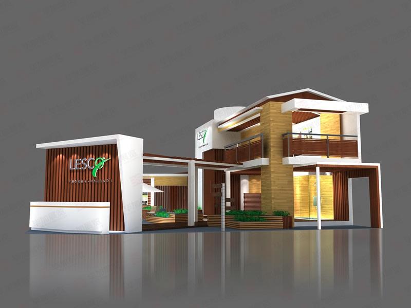 绿可企业介绍: 苏州绿可装饰建材有限公司是国内一家从事生态环保木材生产与研发的知名企业。 展台创意说明: 契合绿可品牌形象和产品特性,采用立体结构,再搭配灯具灯光的效果,衬托出展位庄重、舒适的氛围,突出一种个性、后现代的时尚品味。 色彩搭配: 运用白色与蓝色搭配,着重突出品牌和产品的展示,使整个展位浪漫优雅又时尚新颖。 展台适用行业: 适合于家电、医药、礼品、家具、电子等行业的产品,展示陈列道具改变则可应用更多领域。 毕加服务: 毕加展览是历届建材展特装指定搭建商,专业提供建材展展览设计、建材展展台搭建、